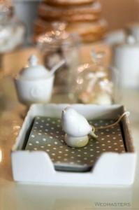 Saldaus stalo servetelės