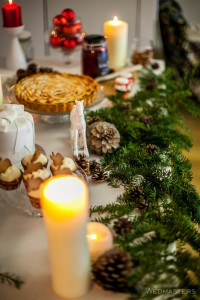 Kalėdinis saldus stalas