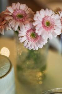 Saldaus stalo gėlės