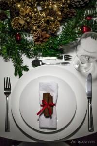 Kalėdinio stalo dekoravimas